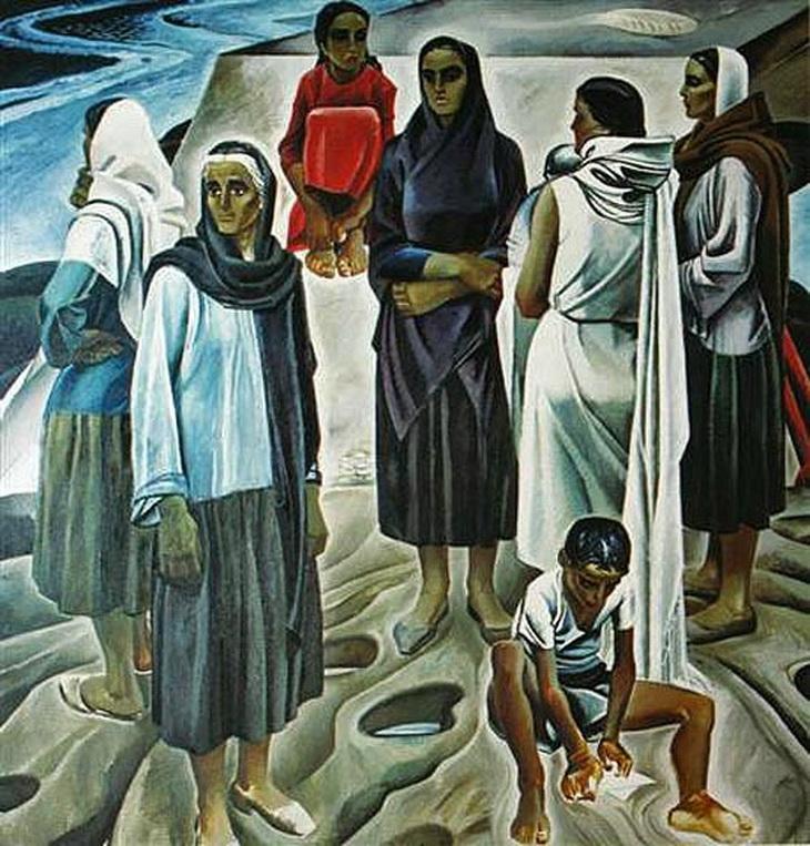 Таир Салахов. «Женщины Апшерона» (1967)