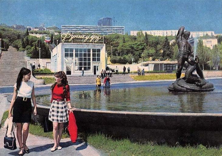 «Бахрам Гур» – первый в Азербайджане памятник литературному герою (ФОТО) - часть 1