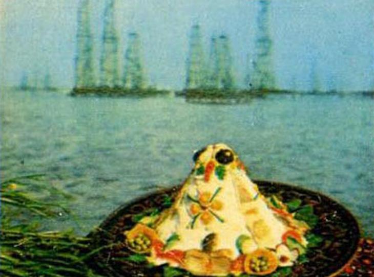 Блюда азербайджанской кухни - Набор открыток 1974 г. (ФОТО)