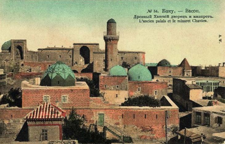 Цветные открытки Баку конца XIX – начала ХХ века (ФОТО) - часть 1