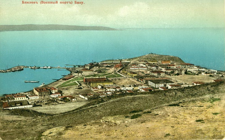 Город на море: Баку на цветных открытках конца 19 — начала 20 века (ФОТО)