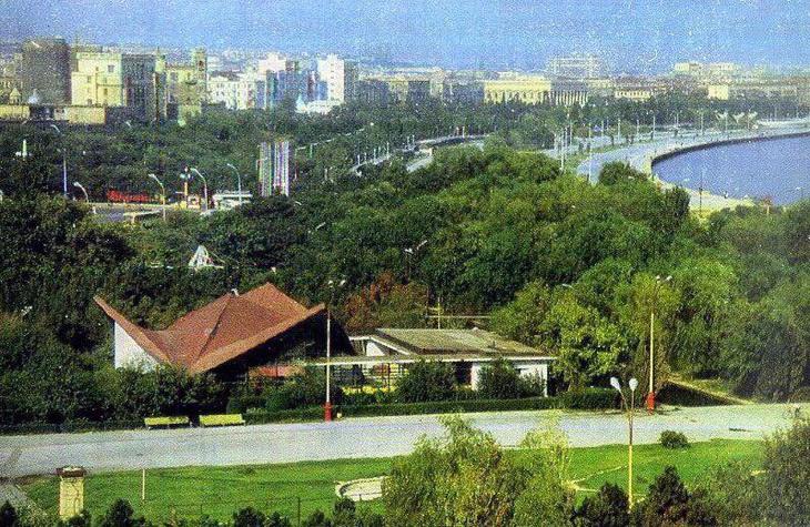Времена СССР: Шахматный клуб на бакинском бульваре (ФОТО)