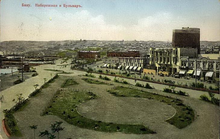 Цветные открытки Баку конца XIX – начала ХХ века (ФОТО) - часть 4