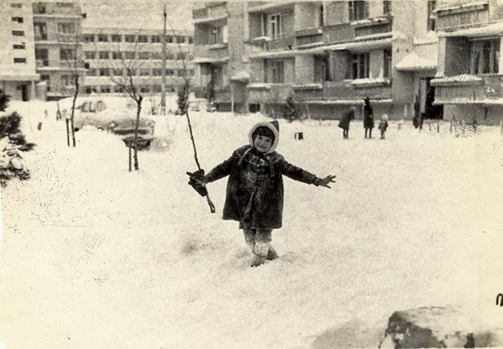 Баку в снегу в 1970-1980-х годах (ФОТО)