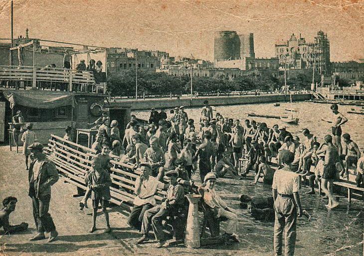 Виды Баку на открытках 20-х годов (ФОТО) - Часть 3