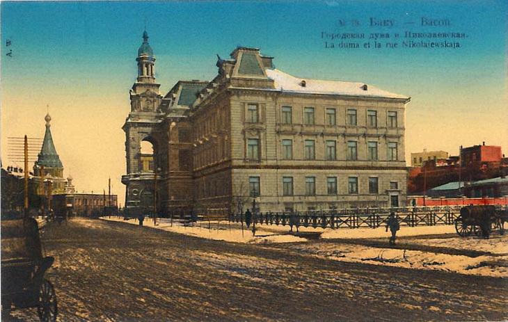 Цветные открытки Баку конца XIX – начала ХХ века (ФОТО) - часть 3