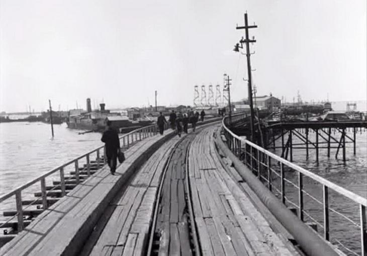 Баку в 1956 г. глазами немецкого фотографа П.Бок-Шрёдера (ФОТО)