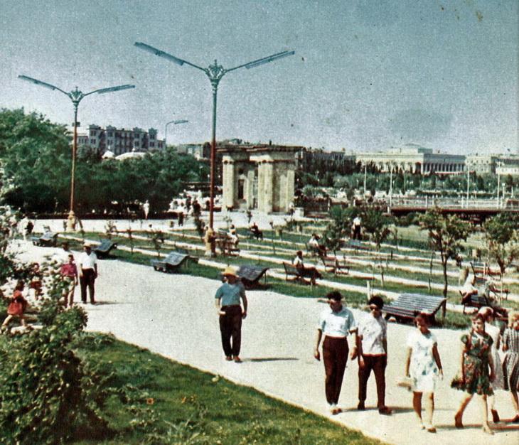 Баку 1964 года: Городские виды (ФОТО) - часть 1