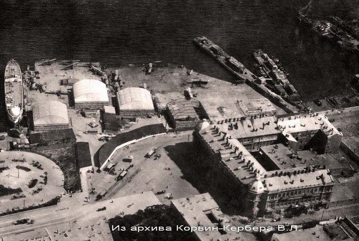 Ангары БОШМА (фрагмент). 1916-1918