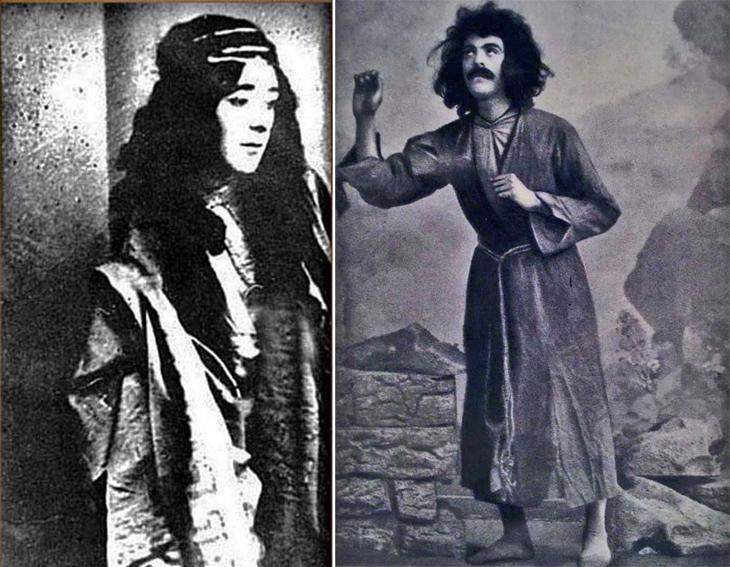 Ахмед Агдамский (Лейли) и Г.Сарабский (Меджнун)