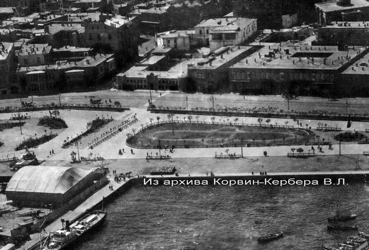 БОШМА и часть бульвара. 1916-1918