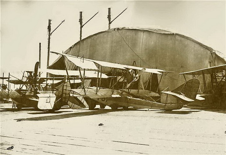 Будни школы морской авиации