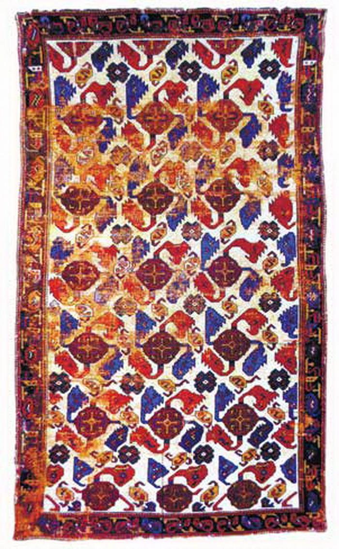 Газахский ковер. XVIII век