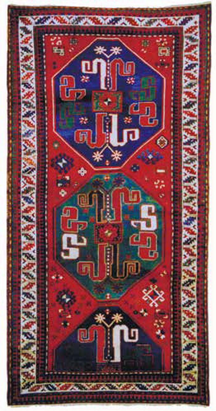 Ковер «Малыбейли». Карабах. 1900-1910 годы