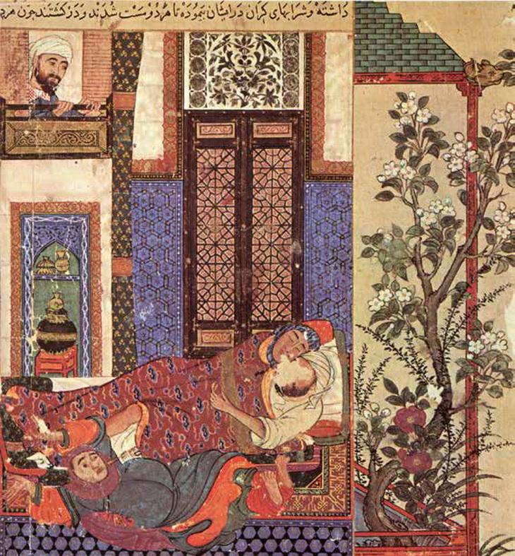 Гротескно-сатирическая линия в изобразительном искусстве Азербайджана