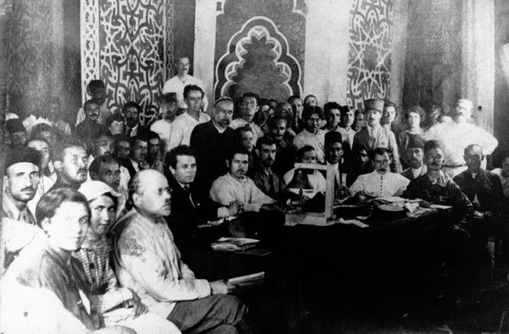 Как это было: Первый съезд народов Востока в Баку