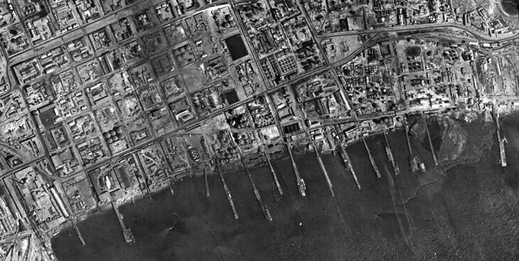 Причалы, середина 1942 года