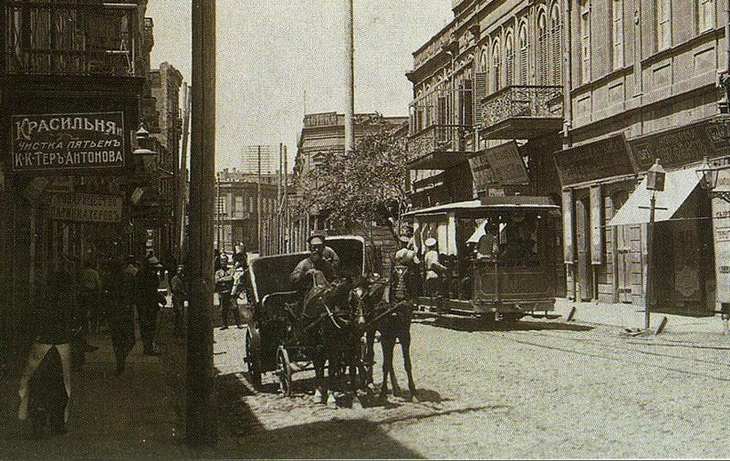 Конка - первый общественный транспорт в Баку (ФОТО)
