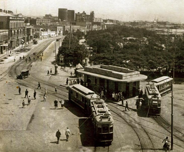 1923-1924 гг.: Баку вводит в эксплуатацию первый трамвай в СССР (ФОТО)