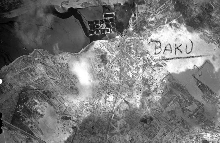 Немецкая аэрофотосъемка Баку в 1942-1943 годах (ФОТО)