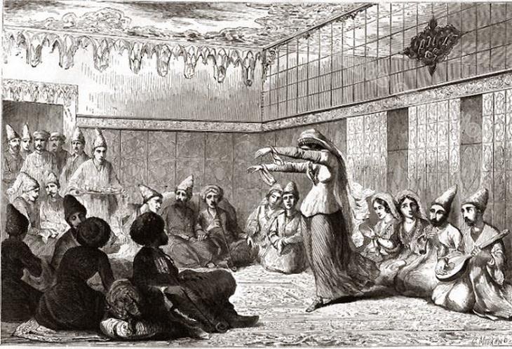 Азербайджан в 1858 г. на рисунках Жан-Пьера Муане (ФОТО)