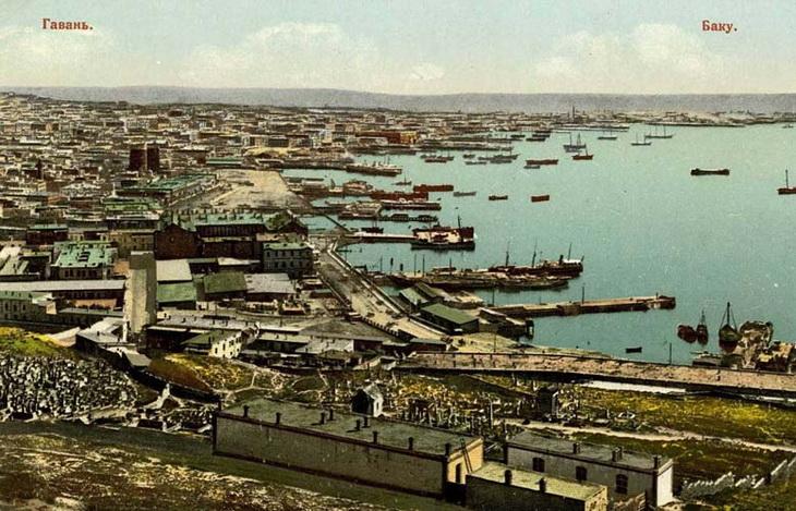 Пристани и доки Баку в 1900-1930 годах (ФОТО)