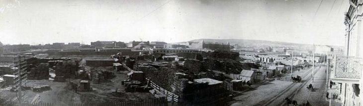 Баку, вид с ул. Телефонная