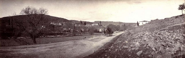 Дорога в Бурджали