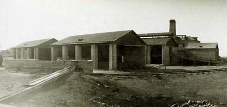Гянджа, лакричный завод. фрагмент