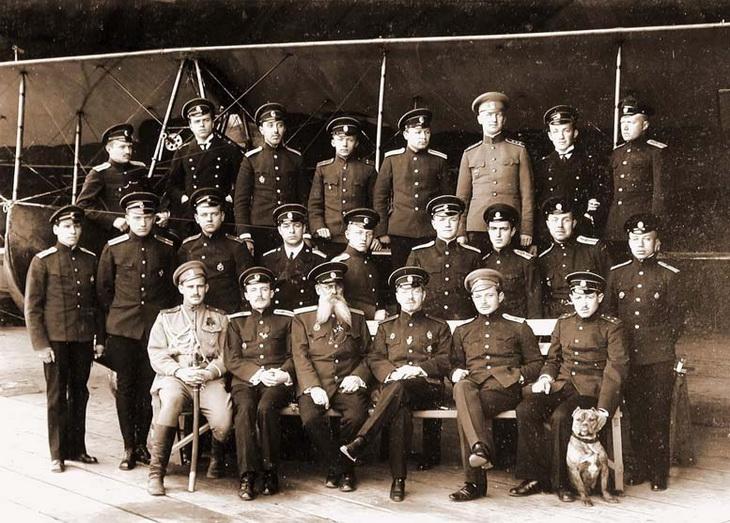 1915. Администрация БОШМА. Личный состав