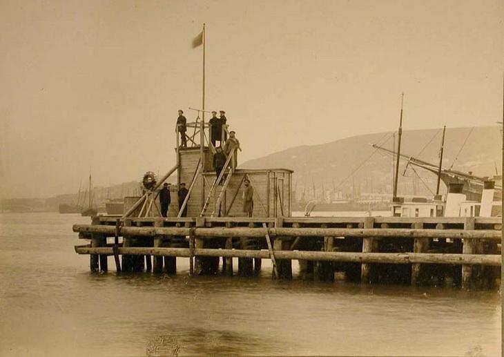 1915. Наблюдательный пункт