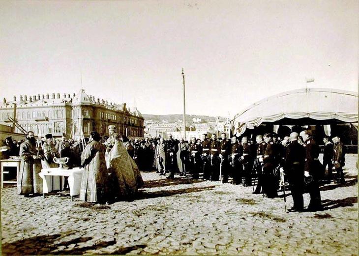 1915. 22 ноября. Освящение БОШМА