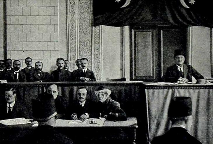 1918. Заседание Первого Азербайджанского Парламента