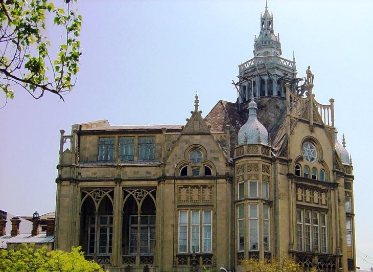 Мухтаровский дворец в Баку: с советских времен до наших дней (ФОТО)