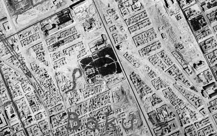 Парк Офицеров и окрестности, 18 августа 1942 года