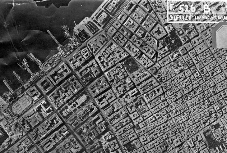 Приморский бульвар и окрестности, 18 августа 1942 года