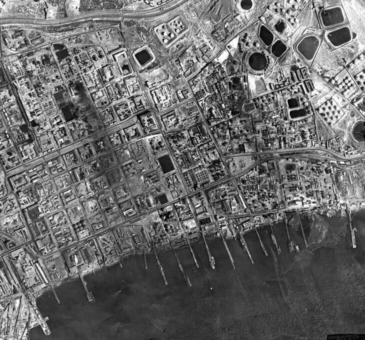 Вокзал и окрестнсти, лето 1942 года