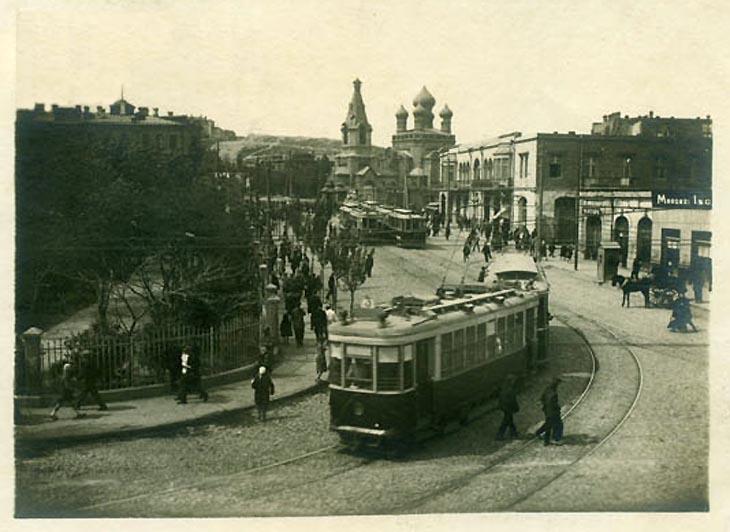 Бакинский трамвай на рубеже 1920-х и 1930-х годов (ФОТО)