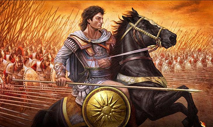 Александр Македонский и его ранние победы