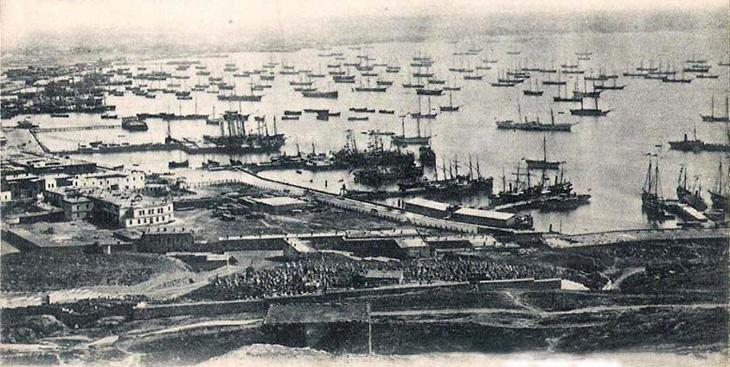 Об открытии Бакинского порта - самого крупного в Российской империи
