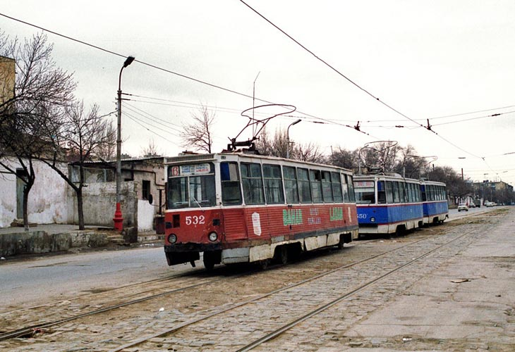 Бакинский трамвай в 2003 году (ФОТО)