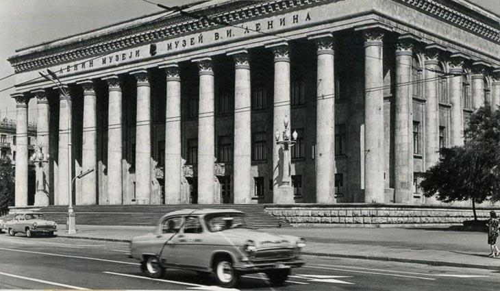 Советский Баку 1960-1970-х в работах Юрия Рахиля (ФОТО)