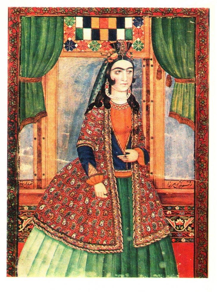 Мирза Кады Эривани. Портрет молодой женщины