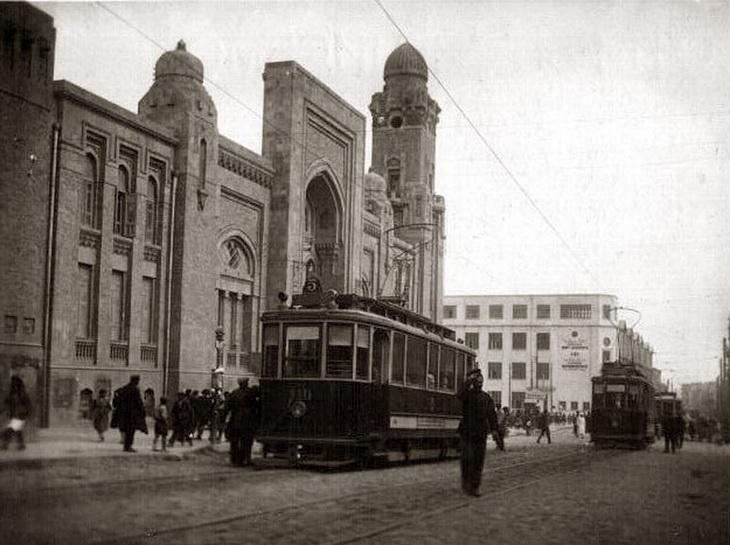 Бакинский трамвай – герой объектива начала 1930-х г. (ФОТО)