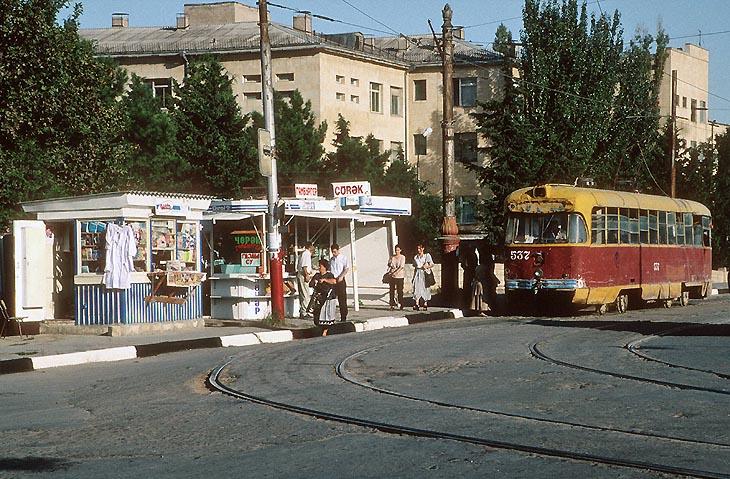 Рижские трамваи на улицах Баку 1980-2000 годов (ФОТО)