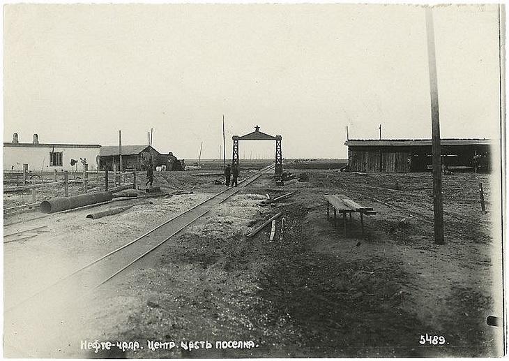 1919-1925 гг.: Баку, Нефтечала, Губа глазами С.Телингатера (ФОТО)