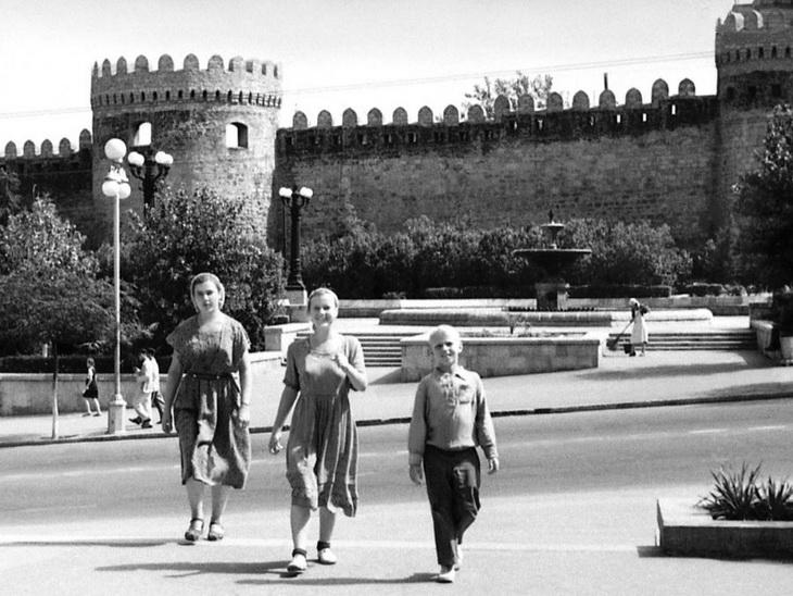 Баку 1955 года глазами Агнешки Хабрович (ФОТО)
