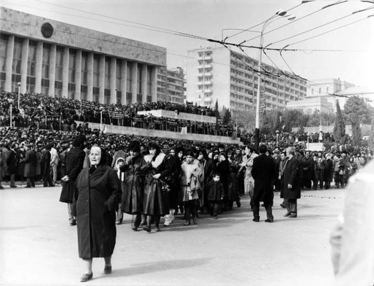 Баку в январе 1990-го глазами Бориса Добина (ФОТО)