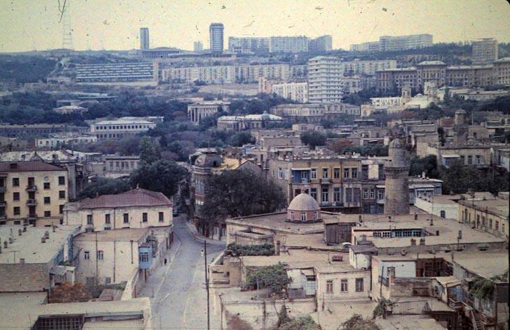 Баку 1973 года на слайдах Евы Л. (ФОТО)