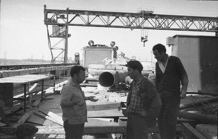 1961 год: Строительство Али-Байрамлинской ГРЭС (ФОТО)
